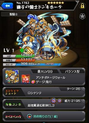 獅子の騎士ドン・キホーテ